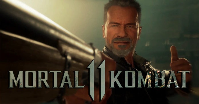 Terminator combo Mortal Kombat 11
