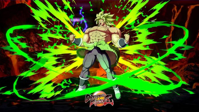 broly (DBS) Touch of death combo dragonball fighterZ