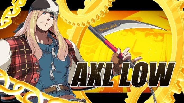 Le personnage de New Guilty Gear Axl Low dans sa bande-annonce d'introduction