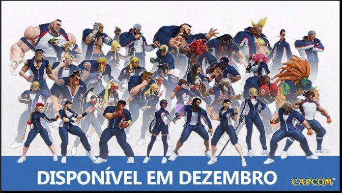 les nouveaux costumes tournoi de Street Fighter V