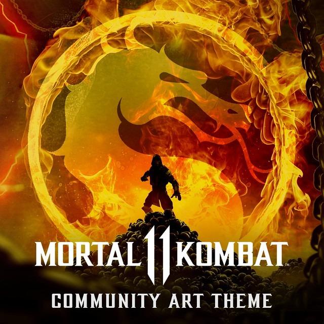 Le logo du thème Mortal Kombat 11 gratuit réalisé par Bosslogic