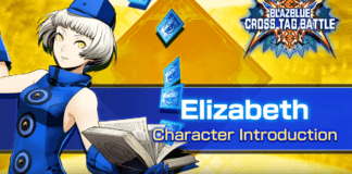 Le personnage additionnel de BlazBlue: Cross Tag Battle Elizabeth