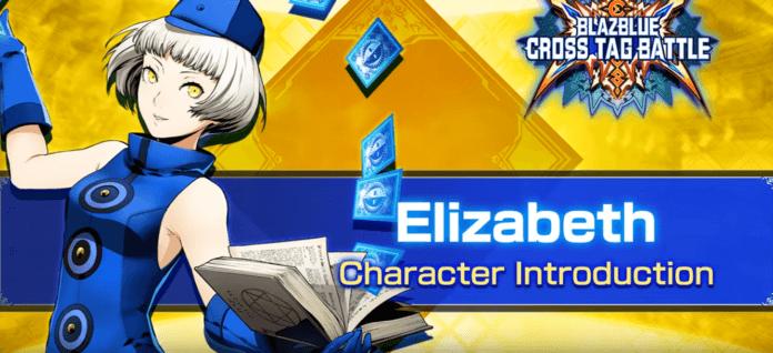 Le personnage additionnel de BlazBlue: Cross Tag Battle Elizabeth
