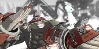 Le personnage Potemkin dans sa bande-annonce sur New Guilty Gear