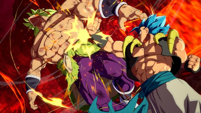 broly (DBS) Dragon Ball FighterZ cinématique