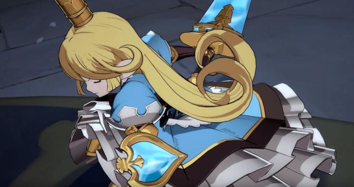 Le personnage Charlota de Granblue Fantasy: Versus dans sa bande-annonce