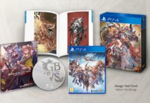 L'édition collector du jeu Granblue Fantasy: Versus