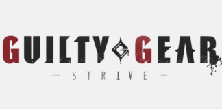 Le logo sur fond blanc du jeu Guilty Gear : Strive