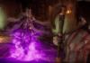 Le personnage en DLC Sindel dans sa bande-annonce sur Mortal Kombat 11