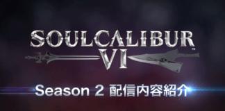 Le logo de la saison 2 de SoulCalibur 6 dans sa bande-annonce