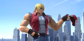 Le personnage additionnel Terry Bogard dans la mise à jour 6.0.0 de Super Smash Bros. Ultimate