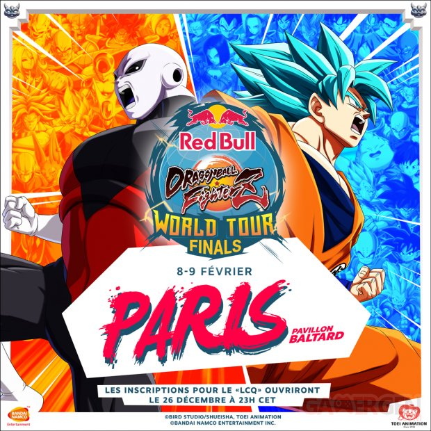dragon ball fighterz world tour paris france 2020