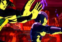 Goku et Freezer les mains tendues lors d'un final dramatique de la saison 3 de Dragon Ball FighterZ