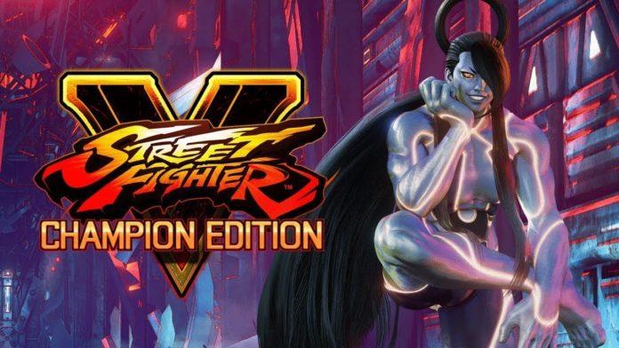 Le personnage de Street Fighter V Seth sous sa forme féminine