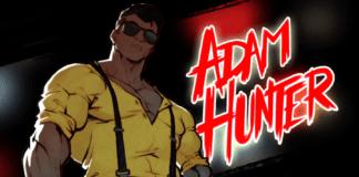Le combattant Adam Hunter de Streets of Rage 4 portant des lunettes de soleil et un maillot jaune