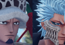 trafalgar law grimmjow jump force