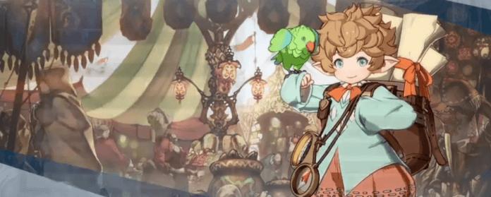 Le personnage Sierokarte de Granblue Fantasy: Versus dans sa boutiquue
