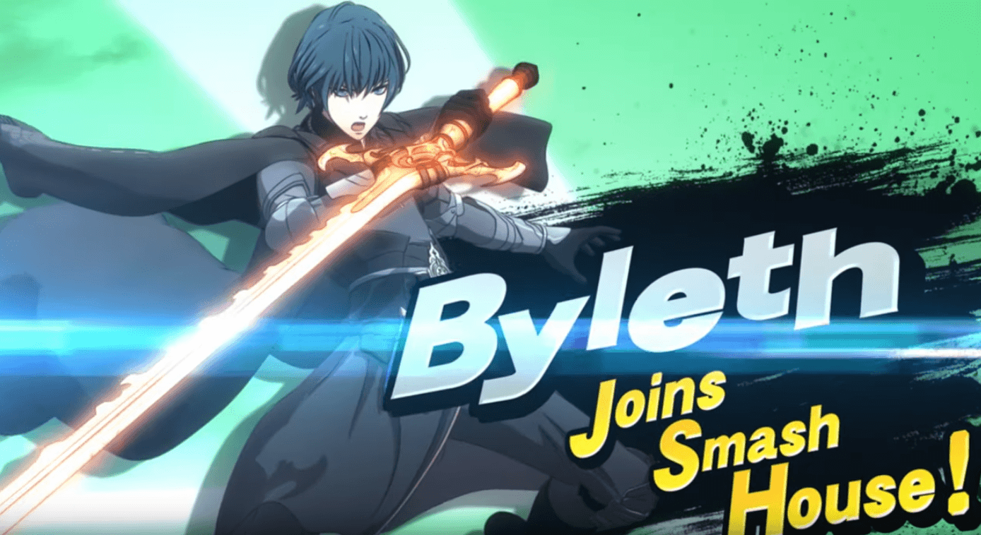 Super Smash Bros. Ultimate accueille Byleth de Fire Emblem