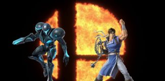 super smash bros ultimate amiibos samus sombre richter mise à jour 6.1.1