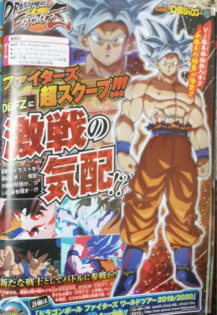 goku ultra instinct dragon ball fighterz season pass 3