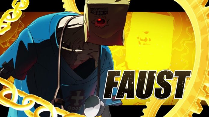 guilty gear strive faust bande annonce