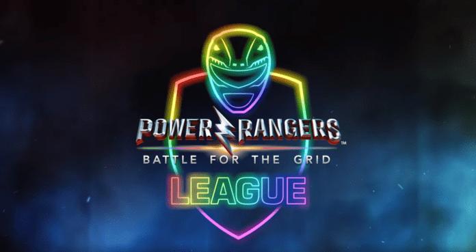 Logo de la ligue Power Rangers: Battle for the Grid