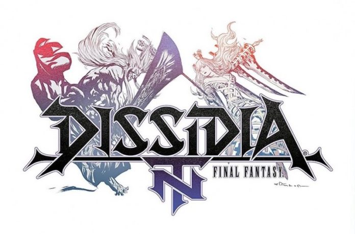 Le logo du jeu dissidia final fantasy nt