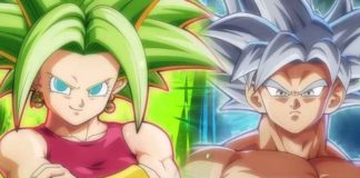 saison 3 dragon ball fighterZ Kefla Goku Ultra Instinct