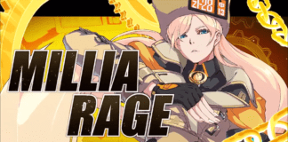 Le personnage de Guilty Gear: Strive Millia Rage