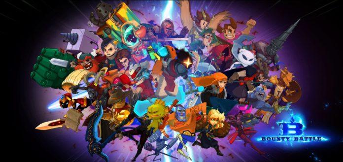 Le logo du jeu de combat indépendant Bounty Battle