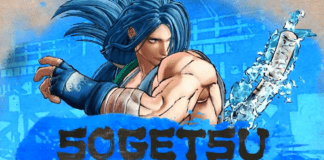 Le nouveau personnage en DLC de Samurai Shodown Sogetsu Kazama