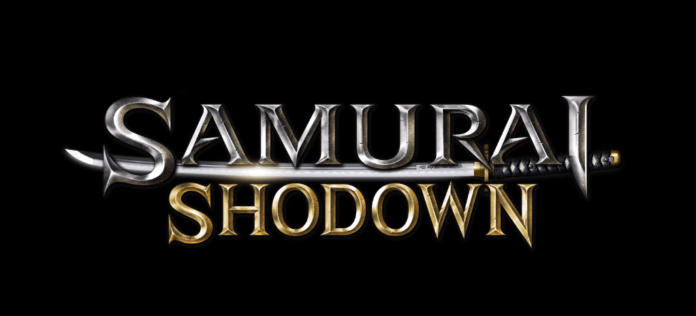 Le logo de Samurai Shodown pour la version PC sur l'Epic Games Store