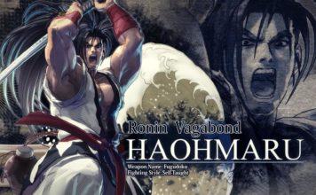 Le personnage de Samurai Shodown Haohmaru dans SoulCalibur VI