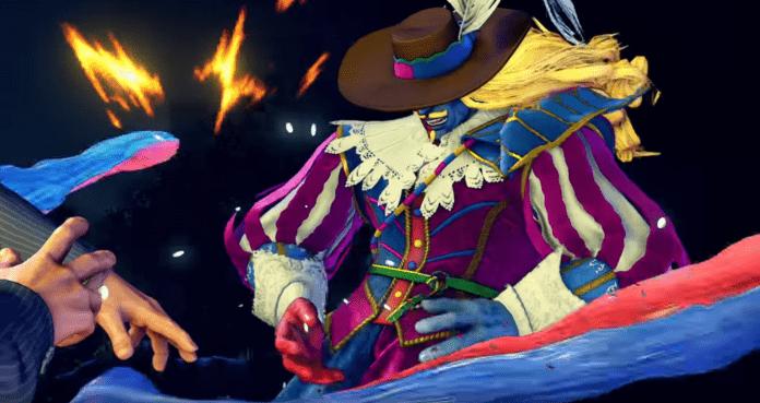 Le personnage de Street Fighter V: Champion Edition Gill avec un costume inédit du Capcom Pro Tour 2020