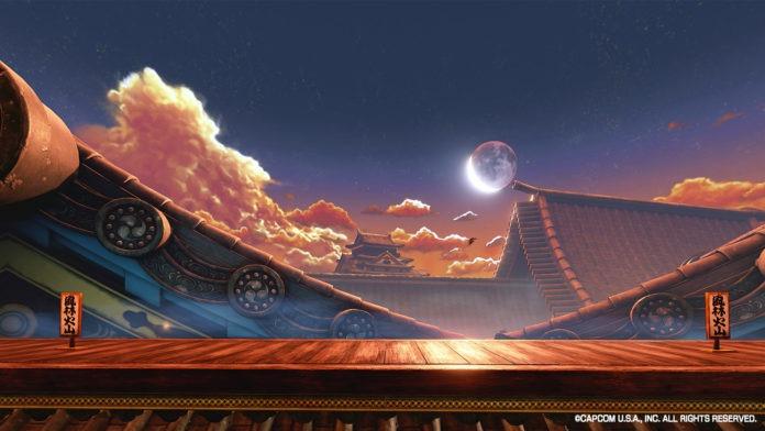 le niveau de Ryu dans Street Fighter V en tant qu'arrière-plan virtuel