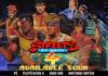 Les personnages rétro de Streets of Rage 4 derrière le logo