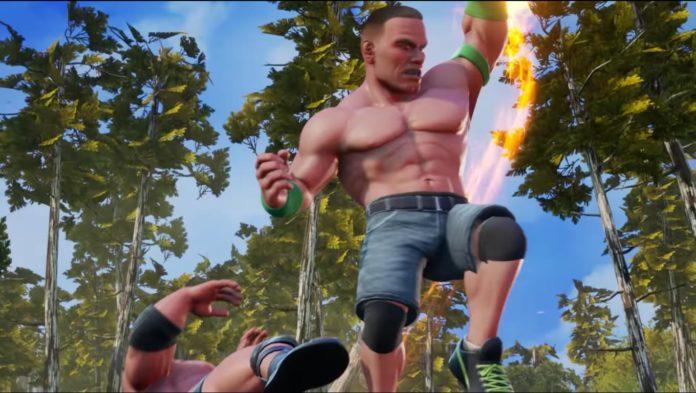 WWE 2K Battlegrounds bande annonce John Cena Shoryuken