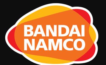 Le logo de Bandai Namco Entertainment sur fond noir
