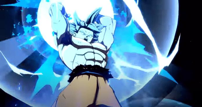 Le nouveau personnage additionnel de Dragon Ball FighterZ Goku Ultra Instinct
