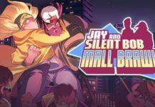 Le logo du jeu jay and silent bob mall brawl