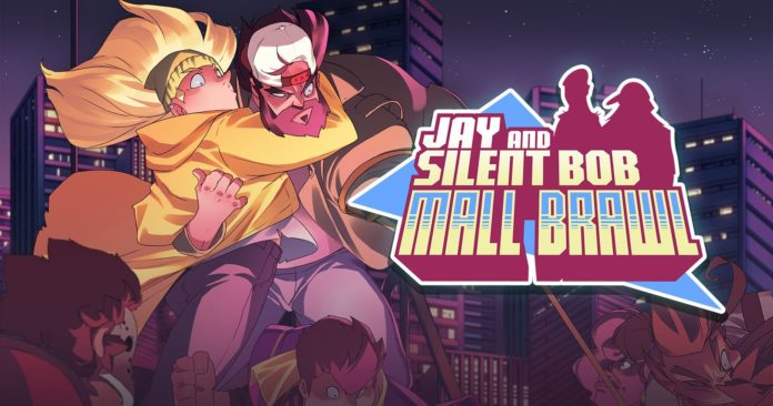 Le logo du jeu jay and silent bob mall brawl