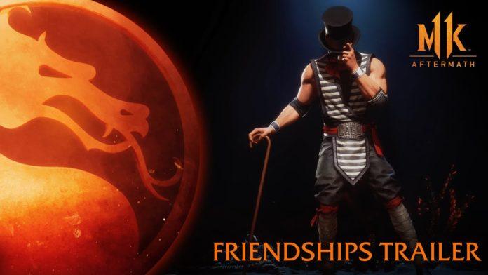 Mortal Kombat 11 Aftermath bande annonce Friendships