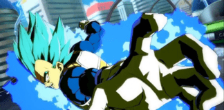 Vegeta Blue combo TOD Dragon Ball FighterZ