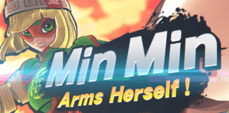 nouveau DLC Min Min ARMS Super Smash Bros. Ultimate