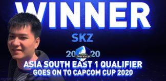 Le visage de Xiaoma SKZ devant le mot Winner
