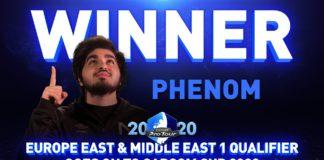 Le gagnant du premier tour du CPT 2020 Online : NVD Phenom