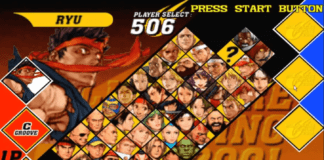 Capcom VS SNK2 tier list par Bas
