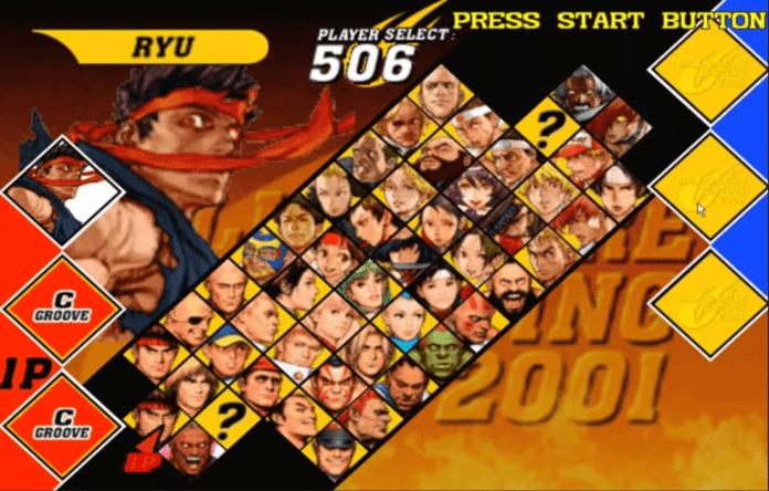 Capcom VS SNK2 tier list par Bas