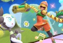 Min Min et la version 8.0.0 disponibles sur Super Smash Bros Ultimate