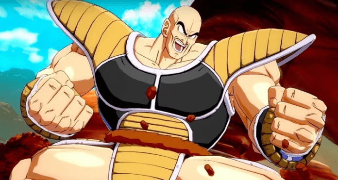 Nappa combo TOD dragon ball fighterZ